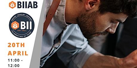 Apprenticeships in Hospitality - BIIAB  Webinar tickets