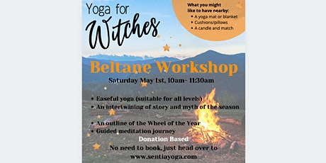 Yoga for Witches - Beltane Workshop tickets