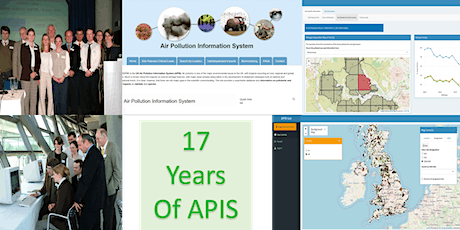 Air Pollution Information System new mapping interface launch tickets