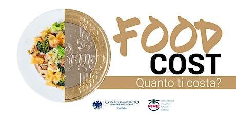FOOD COST - Quanto ti costa il piatto che servi? bilhetes
