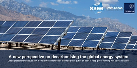 A new perspective on decarbonising the global energy system tickets