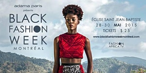 BLACK FASHION WEEK MONTRÉAL 2015