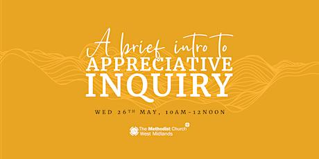 A Brief Intro to Appreciative Inquiry tickets