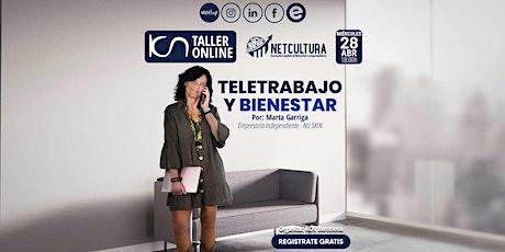 Taller Online Teletrabajo y Bienestar 28Abr entradas