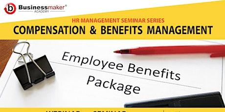 Live Webinar: Compensations & Benefits Management tickets