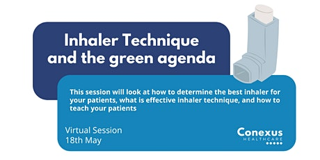 Inhaler Techniques and the Green agenda tickets