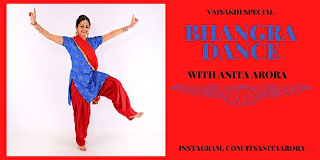 VAISAKHI SPECIAL - Learn a Bhangra Routine - FREE 60 MINUTE  DANCE CLASS tickets