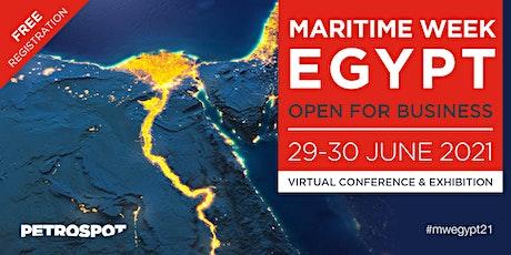 Maritime Week Egypt 2021 Tickets