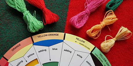 Colour Confidence - Beginners introduction to colour theory in weaving tickets