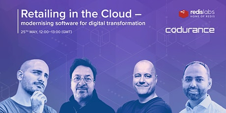 Retailing in the Cloud - modernising software for digital transformation tickets