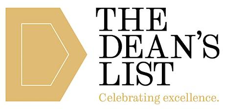 PGT Dean's List Information Session - Summer tickets