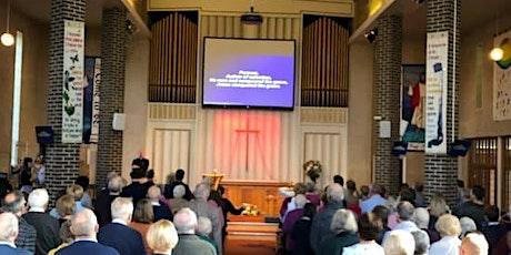 Sunday 18th April Morning Worship Sunday Service  at 10.30am tickets