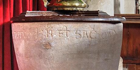 English Church Fonts biglietti