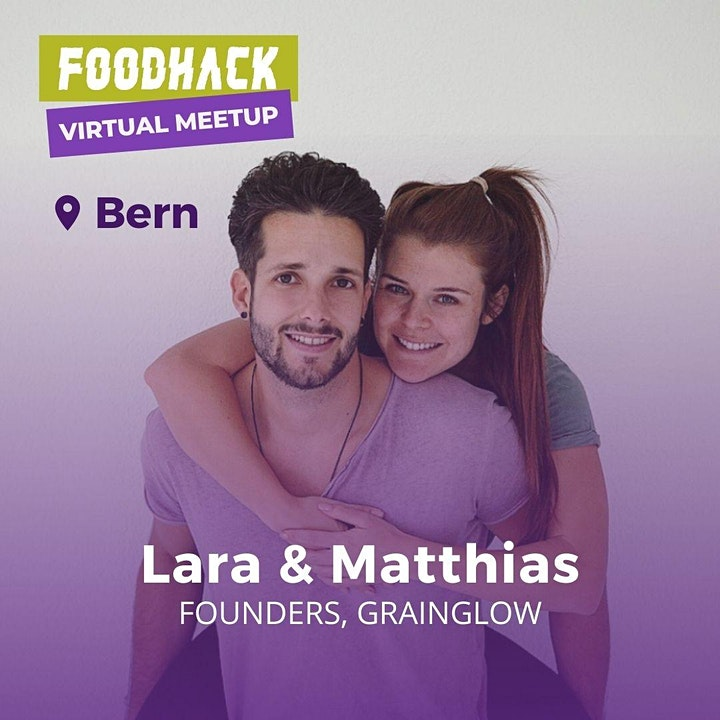 Virtual Meetup by FoodHack Bern with GrainGlow image