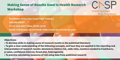 Virtual CASP Workshop - Making Sense of Results tickets
