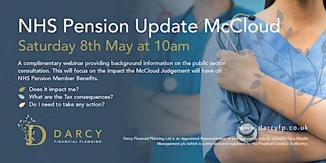NHS Pensions McCloud Webinar tickets