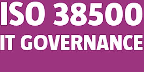 ISO 38500 Governance Manager bilhetes