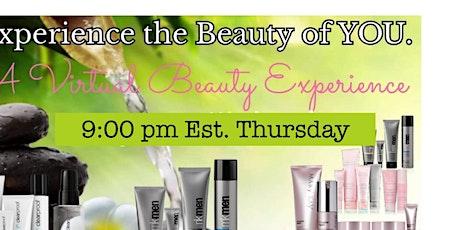 Virtual Beauty Experience tickets