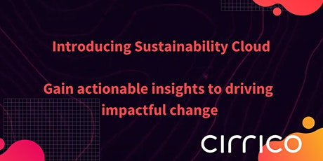 Cirrico X Sustainability Cloud Tickets