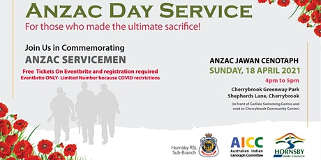 ANZAC Day Service tickets