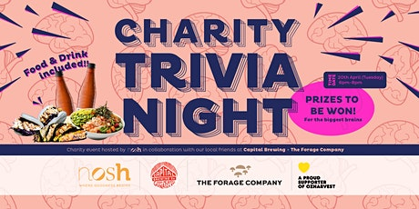 Nosh Charity Trivia Night tickets
