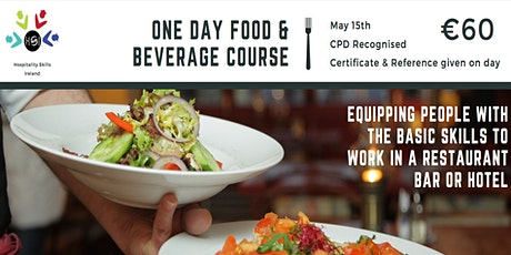 One Day Food & Beverage Zoom Course tickets
