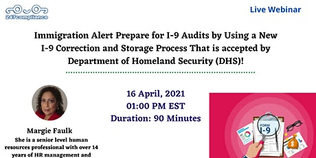 Immigration Alert Prepare for I-9 Audits by Using a New I-9 Correction tickets