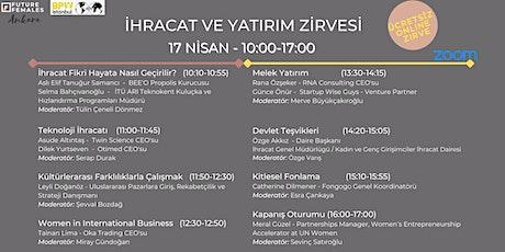 İhracat ve Yatırım Zirvesi   BPW İstanbul & Future Females Ankara tickets