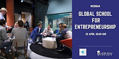 Webinar Global School for Entrepreneurship tickets