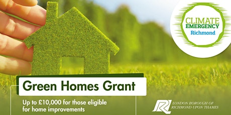 Green Homes Grant: Drop in Event (2) tickets
