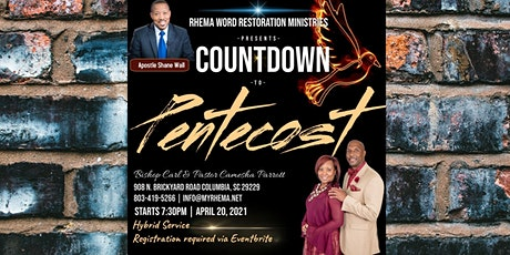 Countdown to Pentecost tickets
