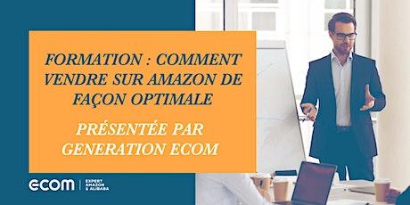 Formation sur comment vendre sur Amazon de façon optimale billets