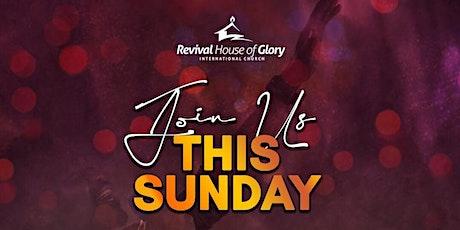 Sunday Celebration  Service - 11th April 2021 tickets