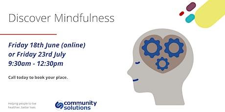 Discover Mindfulness biglietti