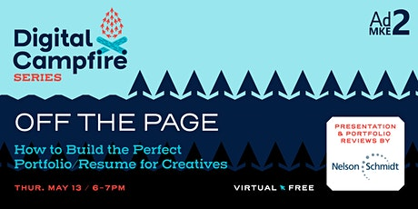 Off the Page: How to Build the Perfect Portfolio/Resume for Creatives tickets