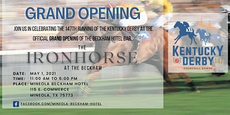 The Iron Horse Kentucky Derby Day tickets
