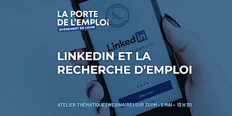 LinkedIn et la recherche d'emploi billets