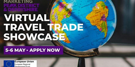 ERDF Visit Peak District and Derbyshire Virtual Travel Trade Event tickets