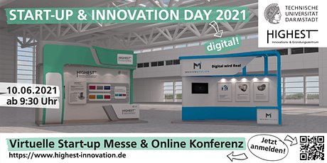 Start-up & Innovation Day digital Tickets