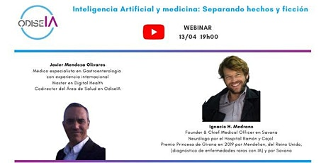 Webinar IA Medicos entradas