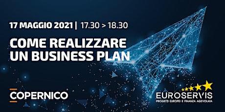 Obiettivo EU | Realizzare un Business Plan biglietti