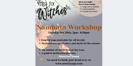 Yoga for Witches - Samhain Workshop tickets