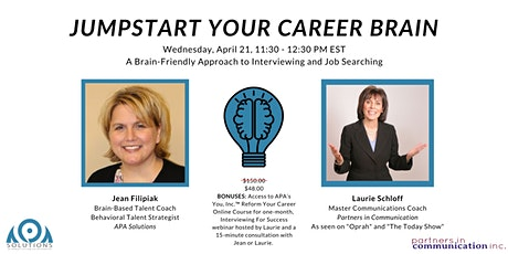 Jumpstart Your Career Brain tickets