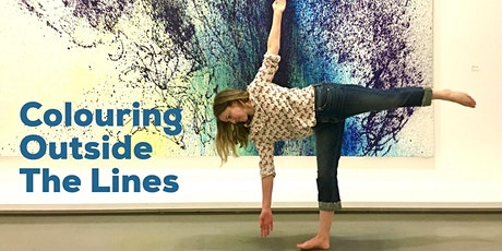 Colouring Outside  the Lines - Yoga and Art bilhetes