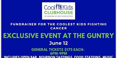 Exclusive Fundraiser at the Guntry for the Coolest Kids Fighting Cancer tickets