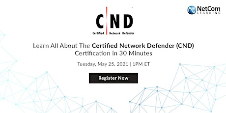 Webinar - All About The Certified Network Defender (CND) Certification tickets