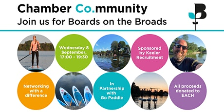 Boards on the Broads - Face-to-Face Networking tickets