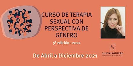 Curso de Terapia Sexual con Perspectiva de Género ingressos
