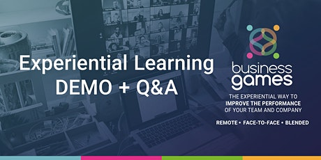 Businessgames - Experiential Learning DEMO and Q&A tickets