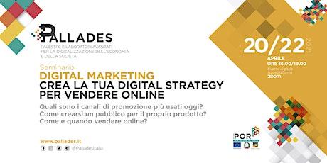 Digital Marketing - Seconda parte biglietti